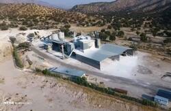 واحد تولید آهک هیدراته چرام  ۶۵ درصد پیشرفت فیزیکی دارد
