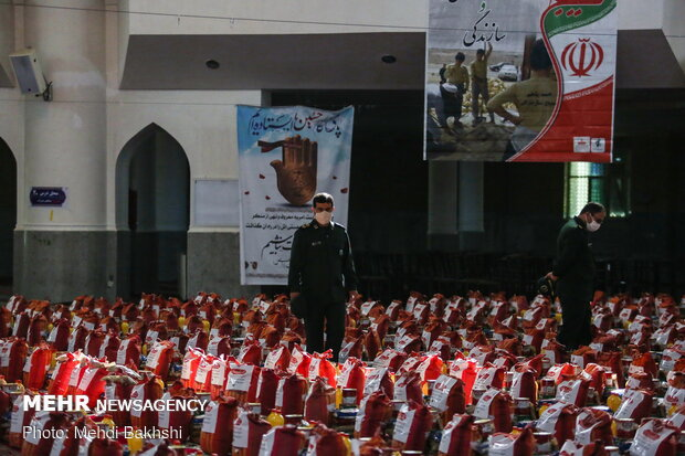 کمک مومنانه ستاد کنگره ملی شهدا در قم
