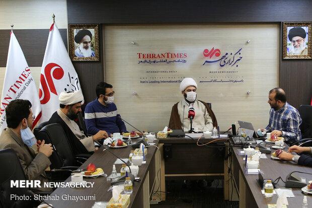 رئيس منظمة الإعلام الإسلامي يزور وكالة مهر للأنباء