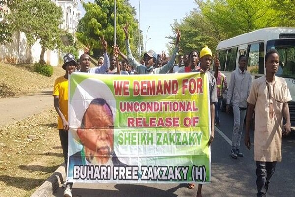People protest in Nigeria in support of Sheikh Zakzaky