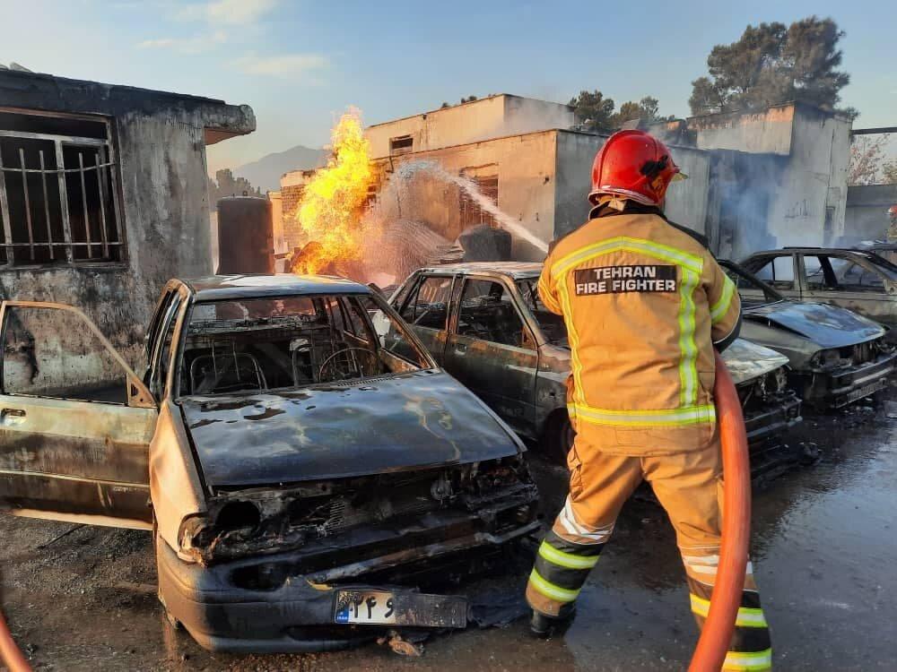 3604724 » مجله اینترنتی کوشا » جزئیات آتش سوزی گسترده در یک گاراژ غیرمجاز سوخت گیری گاز LPG 3