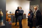 بازدید سفیر قبرس از نمایشگاه دوسالانه ملی سرامیک