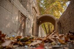 Çöl kenti Yezd'de sonbahar fotoğrafları