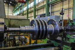 ساخت روتور توربین بخار بدست متخصصان داخلی
