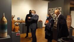 Cyprus amb. visits Iran's 11th Ceramic Biennial