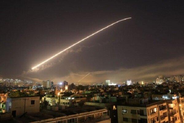Syrian Army intercepts Israeli missiles over Damascus