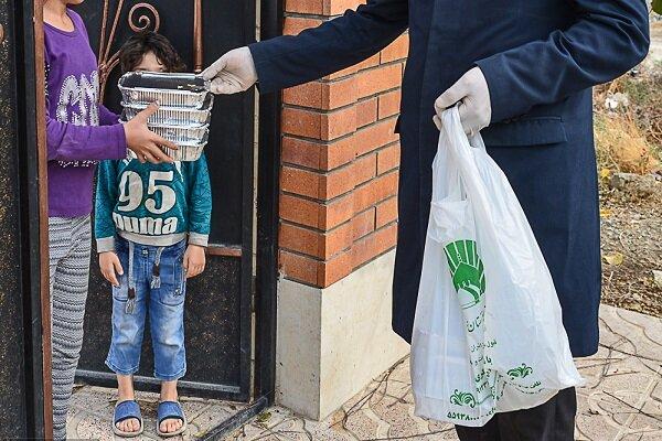 طرح تهیه و توزیع بستههای ارزاق میان خانوادههای بی بضاعت اجرا شد