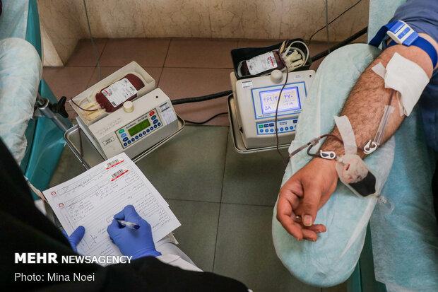 کانون های دانشجویی پویش اهدای خون راه اندازی کردند