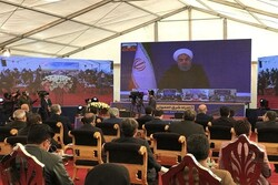 Rouhani inaugurates 13 transportation projects