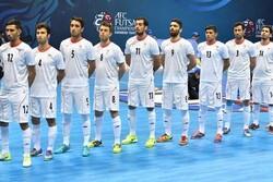 Iran's futsal maintains 6th rank in world