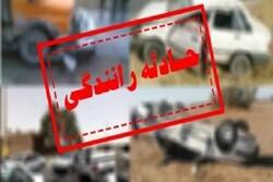 جان باختن عابرپیاده کرمانشاهی در برخورد با کامیون