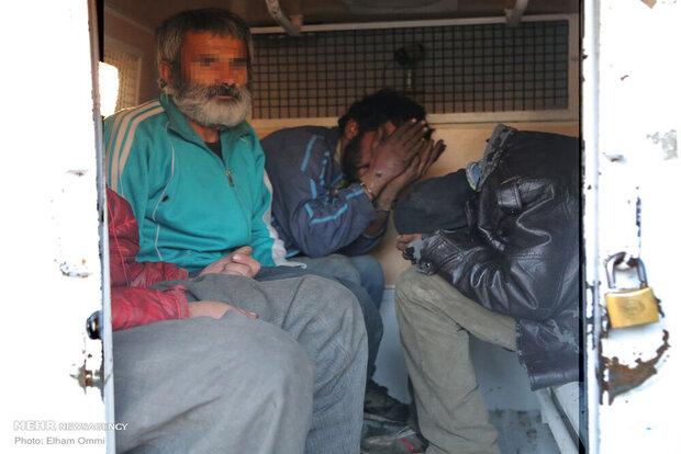 اجرای طرح جمع آوری معتادان متجاهر در سنندج