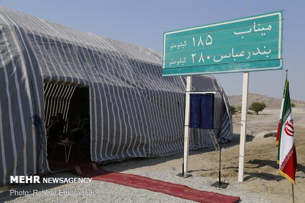 Rouhani inaugurates 97km of S. Coastal Highway Corridor