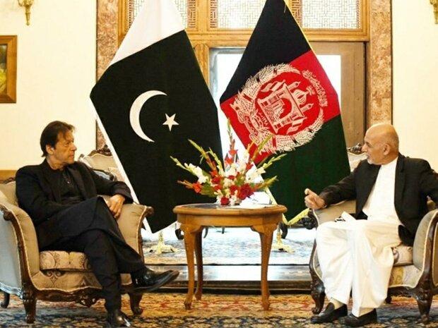 پاکستان کے وزیر اعظم اور افغانستان کے صدر کا باہمی تعاون جاری رکھنے کا عزم