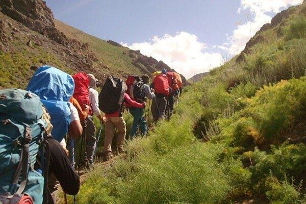 نجات چند کوهنورد از ارتفاعات حوالی اتوبان تهران – شمال