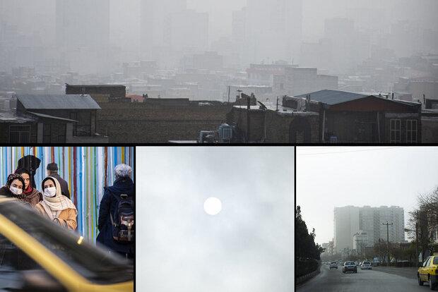 تشدید انباشت آلاینده های جوی در استان مرکزی تا هفته آینده