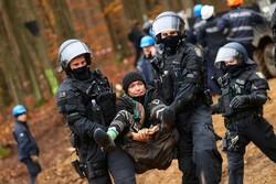 اعتراض به ساخت بزرگراه در میان جنگلهای آلمان