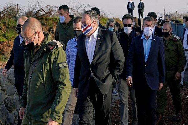 راز اولین سفر یک وزیر خارجه آمریکا به جولان اشغالی