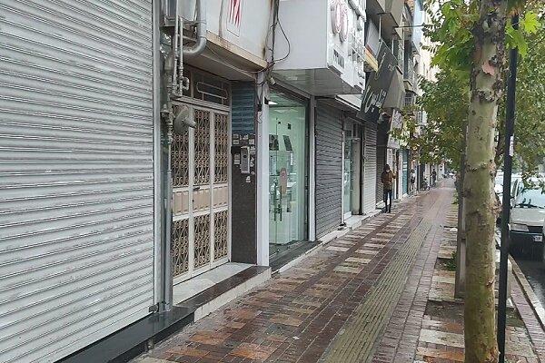 وضعیت خیابانهای قزوین در روز نخست محدودیتهای جدید کرونا