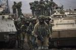 مانور نظامی ارتش رژیم صهیونیستی در نزدیکی نوارغزه