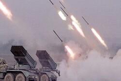 آتش سنگین ارتش سوریه علیه مواضع تروریستها در حومه جنوبی ادلب