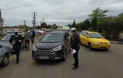 بازگرداندن ۲۸۰۷ دستگاه خودرو از مبادی استان مرکزی در هفته گذشته