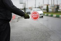 اعمال قانون ۷۳ دستگاه خودرو در طرح ممنوعیت تردد در ساوه