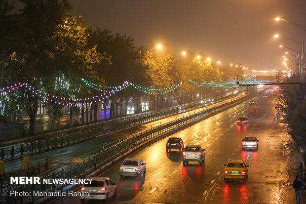 خیابان آزادی- ساعت 20:58