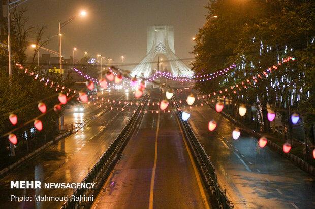 خیابان آزادی - ساعت 21:00