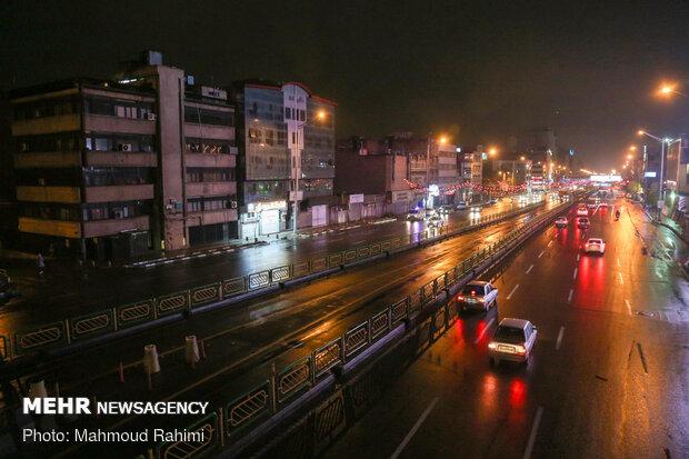 ابتدای خیابان آزادی - ساعت 20:50