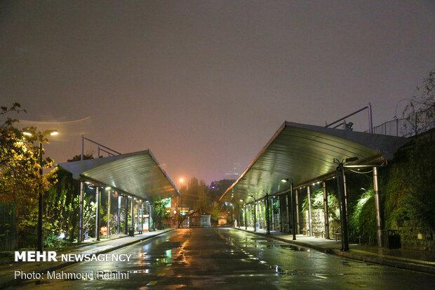 ایستگاه تاکسی میدان صنعت- ساعت 21:40