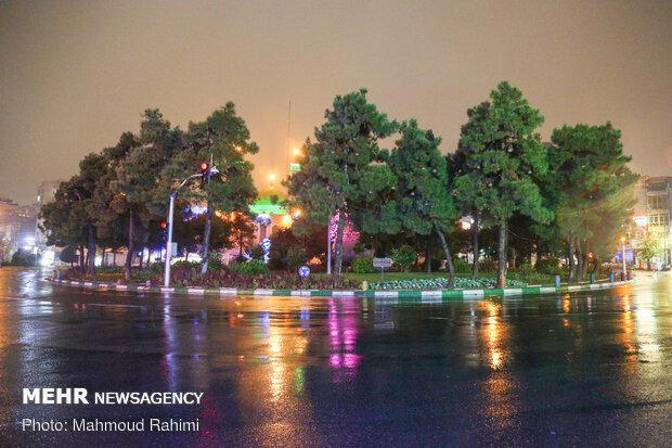 میدان شهید طهرانی مقدم- ساعت 21:55