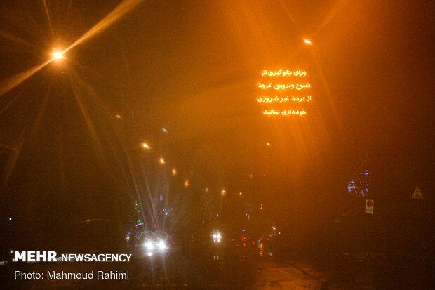 خیابان شریعتی- ساعت 22:35