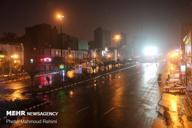 میدان هفت تیر- ساعت 22:56