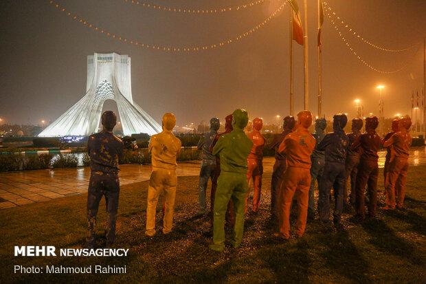 میدان آزادی- ساعت 21:08