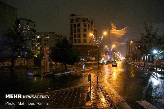 خیابان سعادت آباد- 21:50
