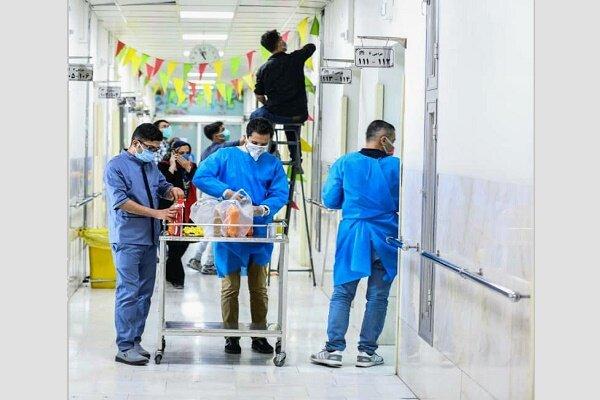 حضور ۲ هزار نیروی جهادی در ۱۲ بیمارستان تهران/ خدمات پیک سلامت,