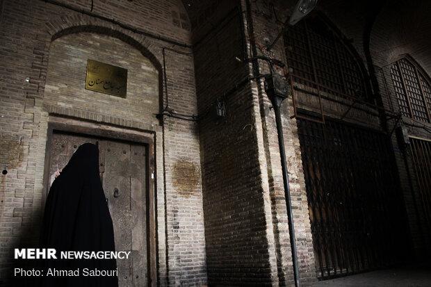 بسته بودن اماکن مذهبی در شهر سمنان