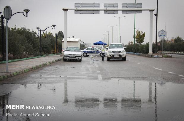 محدودیت های جدید کرونایی در شهر سمنان