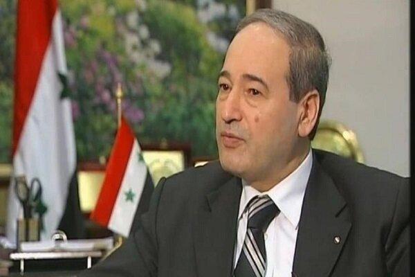 فیصل المقداد وزیر خارجه سوریه شد