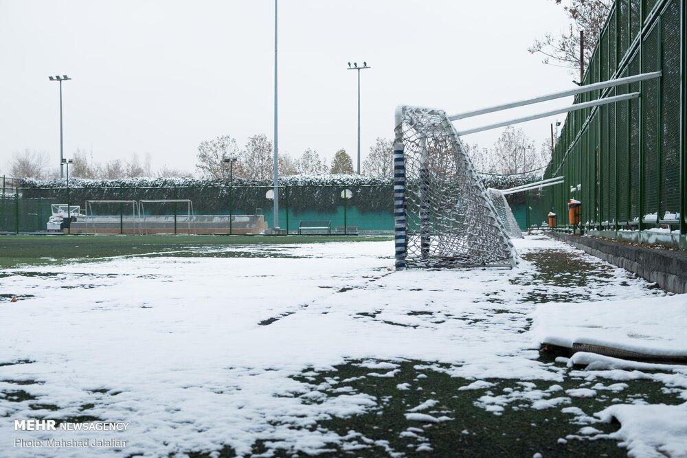 Mehr News Agency - First autumn snow in Mashhad