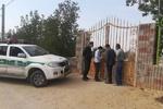 خانهباغهای متخلف در دشتستان پلمب شدند