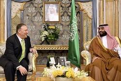امریکی وزیر خارجہ کی سعودی ولیعہد سے ملاقات