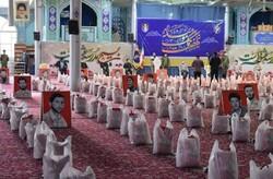 ۱۰۰۰۰ بسته معیشتی در استان مرکزی بین نیازمندان توزیع شد