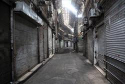 تہران کے بازار میں کورونا وائرس کی روک تھام کے سلسلے میں اقدامات