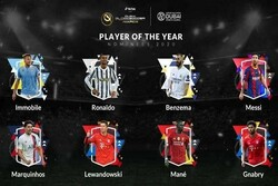 2020 nominees for best football players announced