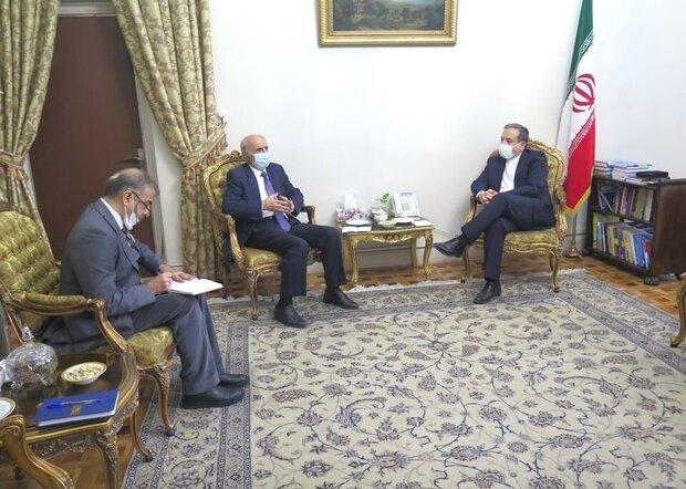Iran dep. FM, Armenian amb. discuss Nagorno-Karabakh conflict