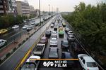 کاهش ۵۹ درصدی تردد درون شهری تهران