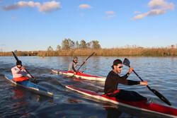 Iran's national canoeing team resumes training