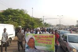 هواداران شیخ زکزاکی در پایتخت نیجریه تظاهرات کردند